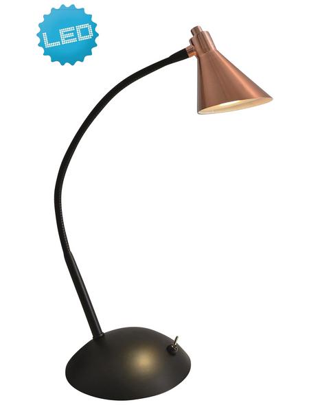 NÄVE LED-Tischleuchte »Pinhead« schwarz/kupferfarben, Schirm-Ø x H: 8,5 x 35 cm,  inkl. Leuchtmittel in Warmweiß
