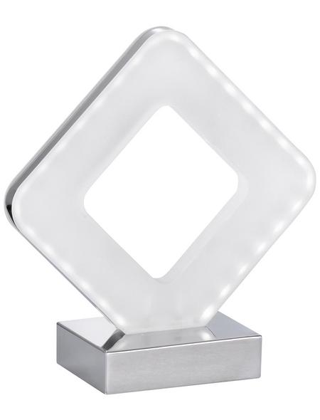 wofi® LED-Tischleuchte »PORI« chromfarben, H: 20,5 cm,  inkl. Leuchtmittel in Warmweiß