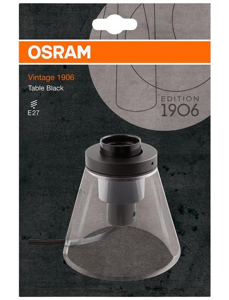 OSRAM LED-Tischleuchte »Vintage 1906« schwarz, H: 11,6 cm, E27 ohne Leuchtmittel