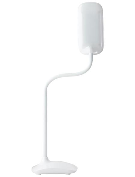 BRILLIANT LED-Tischleuchte Weiß, H: 52,00 cm, Integrierte LED inkl. Leuchtmittel in neutralweiß