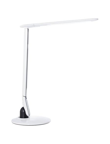 BRILLIANT LED-Tischleuchte Weiß, H: 79,50 cm, Integrierte LED inkl. Leuchtmittel in tageslichtweiß/rgb