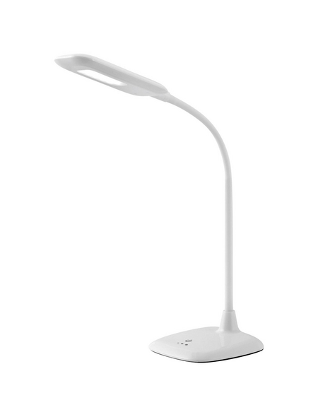 BRILLIANT LED-Tischleuchte Weiß mit 5 W, H: 62,50 cm, Integrierte LED inkl. Leuchtmittel