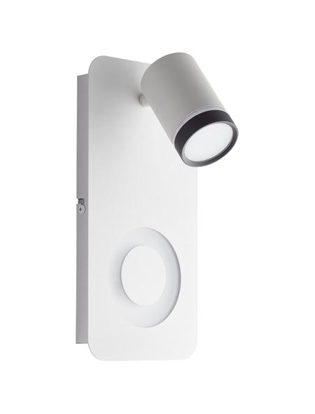 AEG LED-Wand-/Deckenleuchte weiss/schwarz 2-flammig, dimmbar, inkl. Leuchtmittel