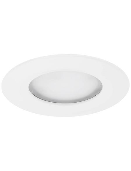 PAULMANN LED-Wand- und Deckenleuchte »Coin Slim«, Aluminium/Zink
