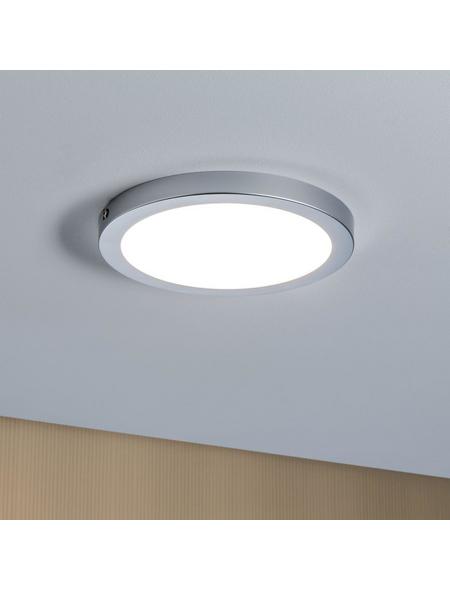 PAULMANN LED-Wand-und Deckenpaneel chromfarben 1-flammig, inkl. Leuchtmittel