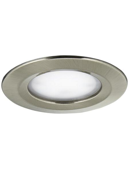 PAULMANN LED-Wand- und Deckneleuchte »Coin Slim«, Aluminium/Zink