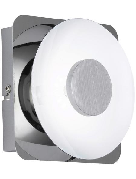LED-Wandleuchte »Space« chromfarben 1-flammig, inkl. Leuchtmittel in warmweiß