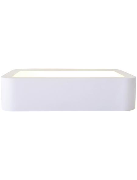 NÄVE LED-Wandleuchte weiß 1-flammig, inkl. Leuchtmittel in warmweiß