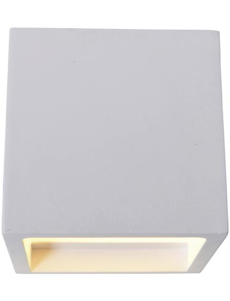NÄVE LED-Wandleuchte weiß 2-flammig, inkl. Leuchtmittel in warmweiß