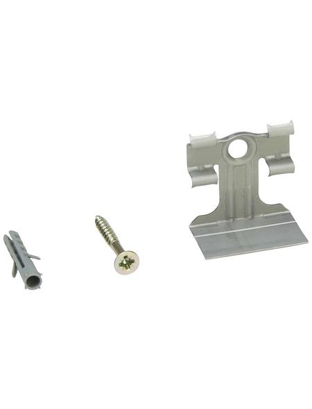 FN NEUHOFER HOLZ Leistenclip »CH01«, für Sockelleisten CH01, Metall