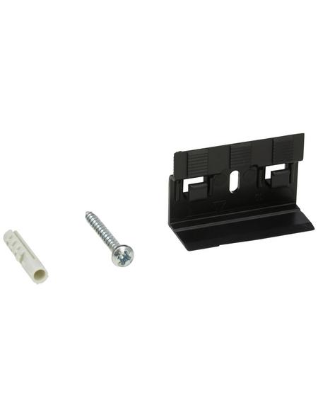 FN NEUHOFER HOLZ Leistenclip »CH23«, für Sockelleisten CH23, Kunststoff, 30 Stück