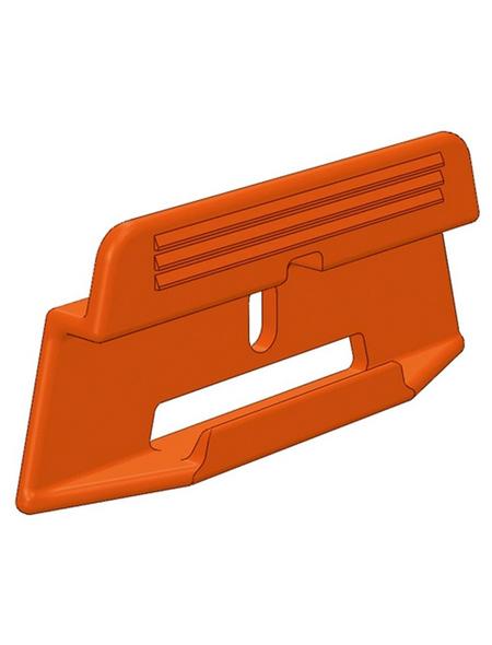 PARADOR Leistenclips, 24 Stück, geeignet für Sockelleiste SL3