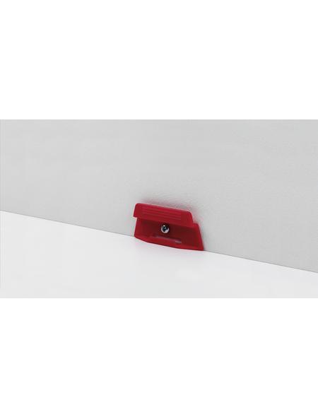 PARADOR Leistenclips »rot«  aus , für SL 4, SL 5, SL 17, SL 18 und SL 20