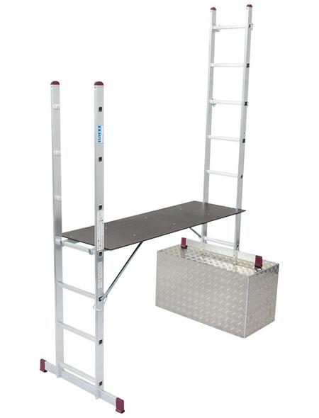 KRAUSE Leiterngerüst »CORDA«, 196 cm Gerüsthöhe