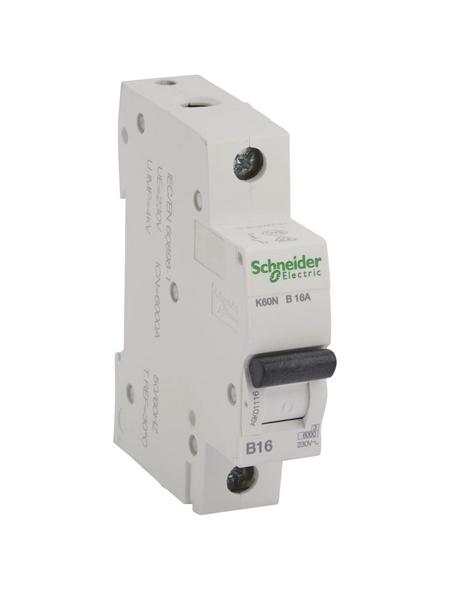 Schneider Electric Leitungsschutzschalter, 1-polig, B, 16 A
