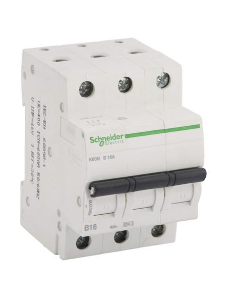 Schneider Electric Leitungsschutzschalter, 3-polig, B, 16 A