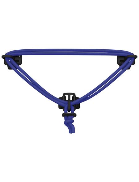 Lenkerspannband, mit Klettverschluss, blau