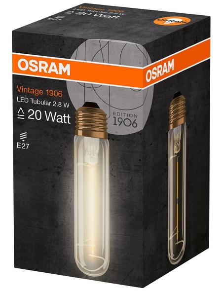 OSRAM Leuchtmittel »Vintage 1906«, 2,8 W, E27, 2400 K, warmweiß, 200 lm