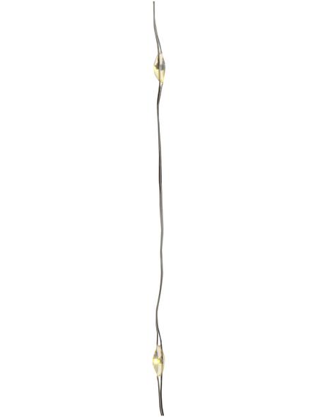 CASAYA Lichterkette, 0,95 m, Batteriebetrieb