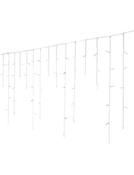 CASAYA Lichterkette »Eisregen«, kaltweiß, Netzbetrieb, Kabellänge: 11 m