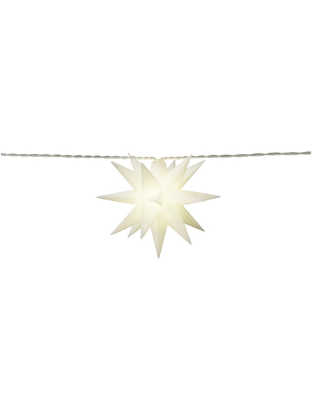 CASAYA Lichterkette »LED 3D«, warmweiß, Batteriebetrieb, Kabellänge: 4,15 m