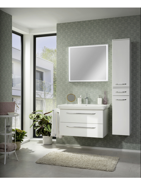 FACKELMANN Lichtspiegel »Framelight«, beleuchtet, BxH: 80 cm x 70 cm