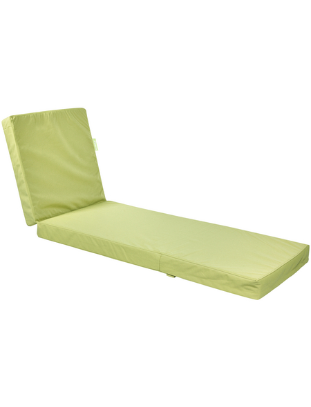 OUTBAG Liegenauflage »Flat Plus«, grün, Uni, BxL: 185 x 60 cm
