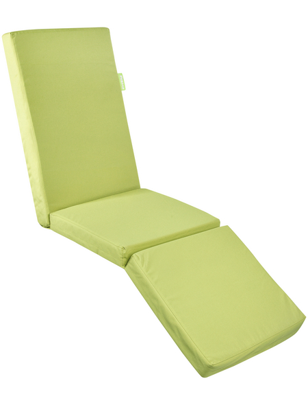 OUTBAG Liegenauflage »Relax Plus«, grün, Uni, BxL: 180 x 50 cm