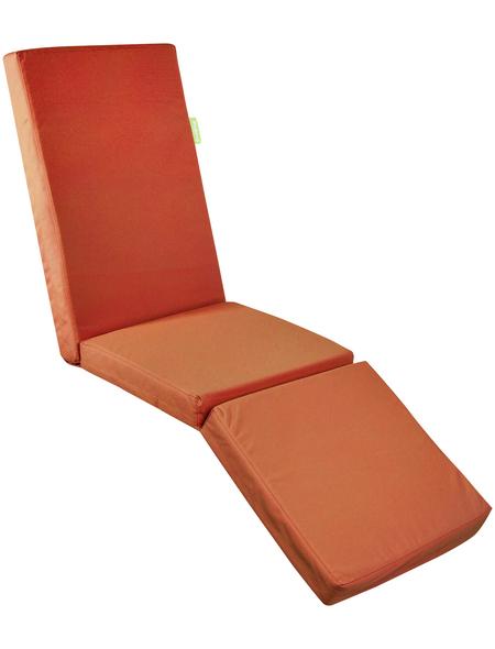 OUTBAG Liegenauflage »Relax Plus«, orange, Uni, BxL: 180 x 50 cm