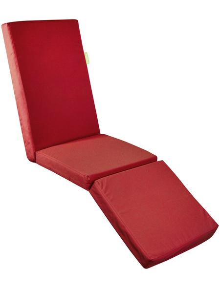 OUTBAG Liegenauflage »Relax Plus«, rot, Uni, BxL: 180 x 50 cm