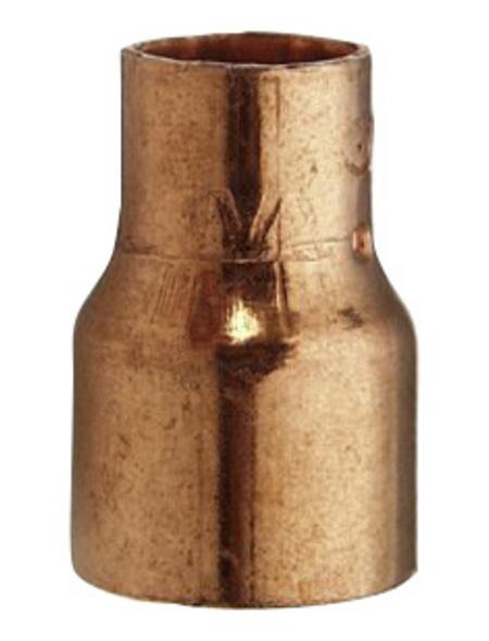 CORNAT Löt-Reduzier-Muffe, mit 2 Muffen, 18 x 15 mm