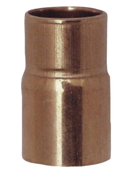 CORNAT Löt-Reduzier-Nippel, mit einer Muffe, 28 x 22 mm