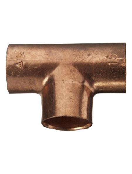 CORNAT Löt-T-Stück, 10er-Pack, 15 mm