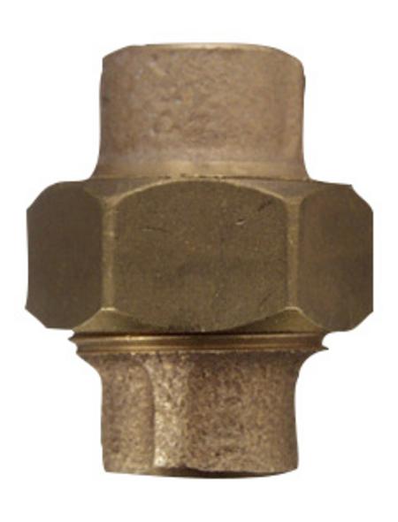 CORNAT Löt-Verschraubung, mit 2 Muffen und einem Innengewinde, 18 mm