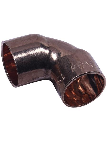 CORNAT Löt-Winkel, 90° , 15 mm, 2 Muffen