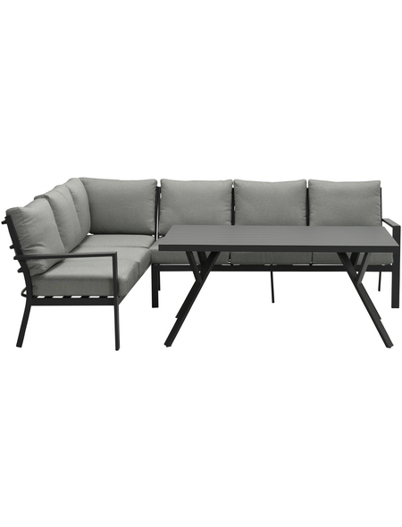 GARDEN IMPRESSIONS Lounge-Gartenmöbel »Sergio«, 5 Sitzplätze, inkl. Auflagen