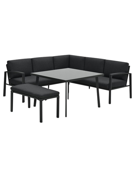 Lounge-Gartenmöbel »Wellington«, 7 Sitzplätze, inkl. Auflagen