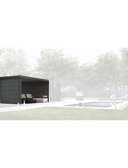 WOLFF Loungeanbau »Eleganto Lounge Links Granitgrau«