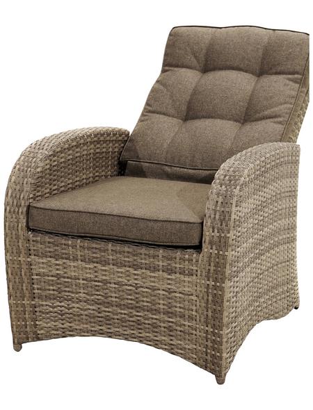 ploß® Loungesessel »Rabida Comfort«, Aluminium