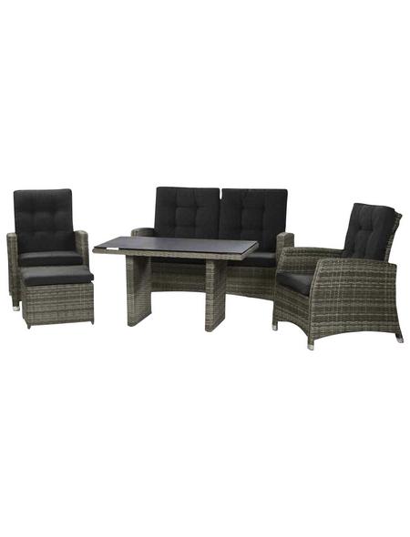 CASAYA Loungeset, 4 Sitzplätze