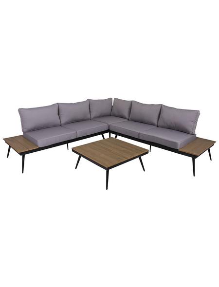 GARDEN PLEASURE Loungeset, 4 Sitzplätze