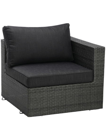 BEST Loungeset »Aruba«, Gestell: Aluminium, inkl. Auflage
