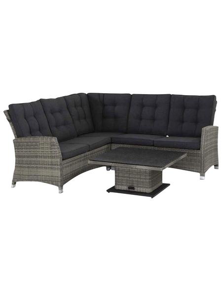 CASAYA Loungeset »Benega Plus«, 5 Sitzplätze, inkl. Auflagen
