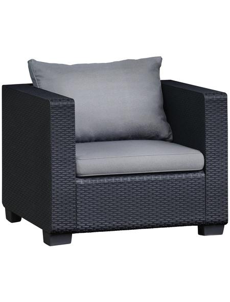 BEST Loungeset »Burano«, 4 Sitzplätze, inkl. Auflagen