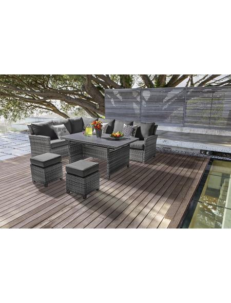 CASAYA Loungeset »Fiami«, 10 Sitzplätze, inkl. Auflagen