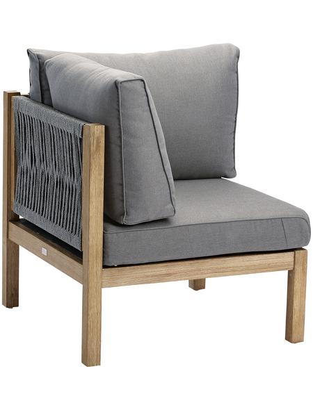 BEST Loungeset »Madagaskar«, Gestell: Holz, inkl. Auflage