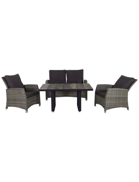 CASAYA Loungeset »Zoots«, 4 Sitzplätze, inkl. Auflagen