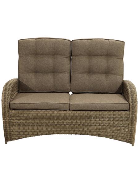 ploß® Loungesofa »Rabida Comfort«, 148 x 112 x 85