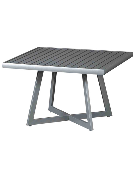 SIENA GARDEN Loungetisch »Alexis«, mit Aluminium-Tischplatte, BxTxH: 70 x 70 x 55 cm