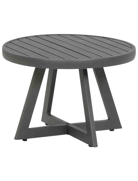 SIENA GARDEN Loungetisch »Alexis« mit Aluminium-Tischplatte, Ø 50 cm